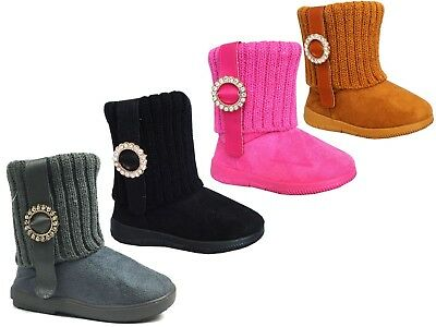 Wholesale lot 36 pairs New Kids Rhinestone Ring Knitting Boot Fashion Shoe--2023