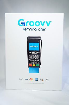 Groovv Terminal One Credit Card Processing Terminal with EMV and Apple Pay
