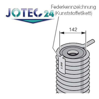 Hörmann Torsionsfeder R310 für Industrie- Sectionaltore - 3043668_2