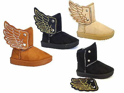 Wholesale lot 36 pairs New Kids Stylish Flying High Boot Angle Wing Shoe--2033
