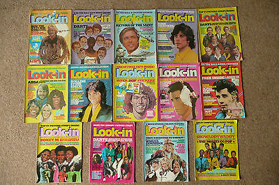 Look-in Vintage Magazine Collection 1975 to 1979