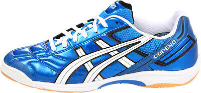 ASICS Copero S Soccer Shoe P014Y 4301 Electric Blue----New in Box----
