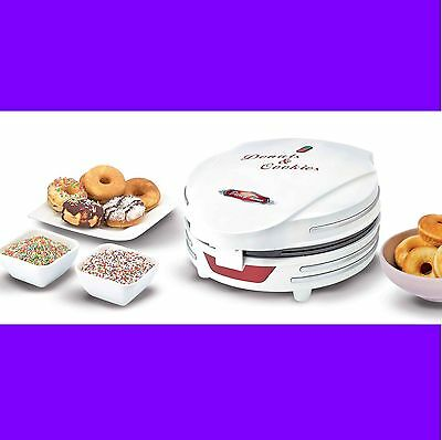 Aparato Hacer 7 Donettes Maquina Electrica Profesional De Donut Donuts