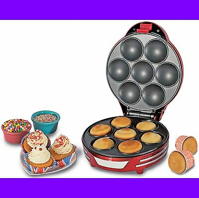 Horno Para 7 Cupcakes Maquina De Magdalenas Muffins Pasteles Muffins Cup Cakes