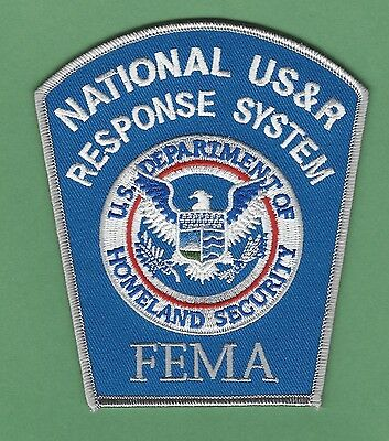 Fema National Usar Urban Search & Rescue Response System Patch