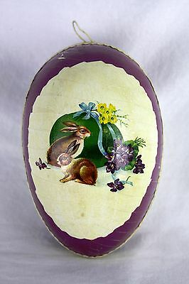 Antique German Lithographed Easter Egg Candy Container ca1910