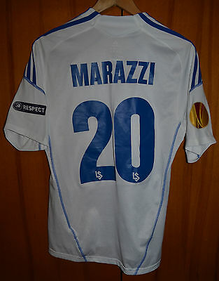 Lausanne Sport Switzerland Match Issue Football Shirt Jersey Adidas #20 Marazzi