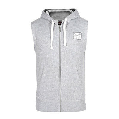 Bad Boy Hoodie sleeveless Core  Grey, Kapuzenjacke Sweat jacke Hoodie ärmellos