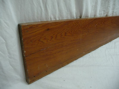 Antique Craftsman Style Base Trim - Circa 1915 Chestnut Architectural Salvage