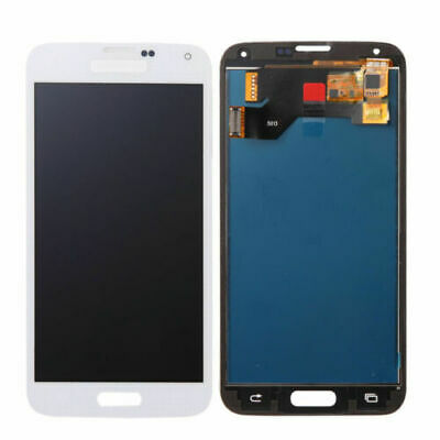 White Samsung Galaxy S5 LCD Screen Digitizer Replacement USA Shipping FAST