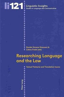 Researching Language and the Law by Paperback Book (English)