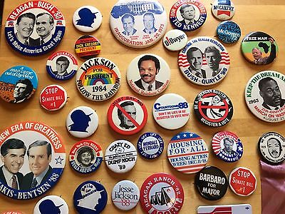 Lot of 200 plus Vintage Political Social Movement and Souvineer  Buttons