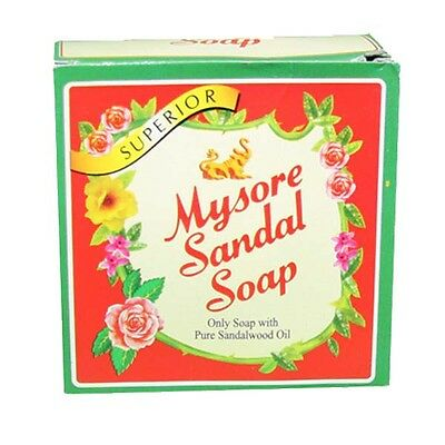 Mysore Sandal Soap 150g MFD AUG 2014 Made with Pure Sandalwood Oil