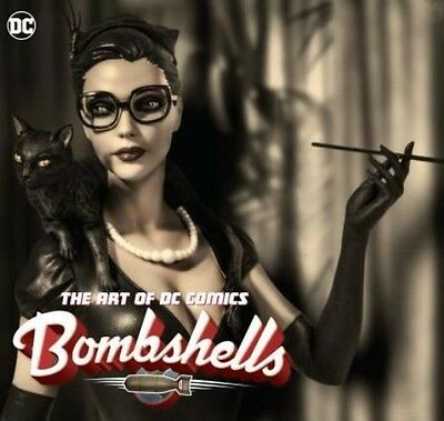 The Art of DC Comics Bombshells by Ant Lucia Hardcover Book (English)