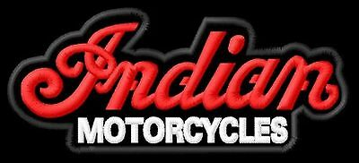 Indian Motorcycles 101 Parche bordado iron-on patch