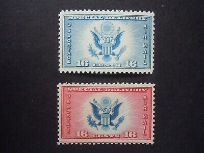 1934-36 CE1 & CE2 Airpost Special Delivery MNH OG
