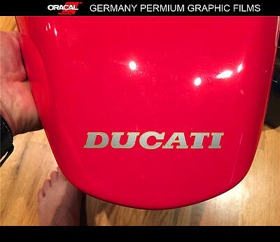 Small DUCATI MONSTER Motorcycle Fuel tank Vinyl Decal sticker _double layers