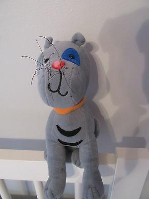 GILBERT the cat PLUSH DOLL 10 inches CAILLOU CINAR