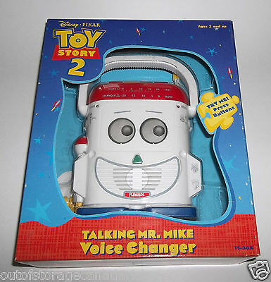 Toy Story 2 Talking Mr. Mike Voice Changer Disney 1999 Playskool Hasbro NEW RARE