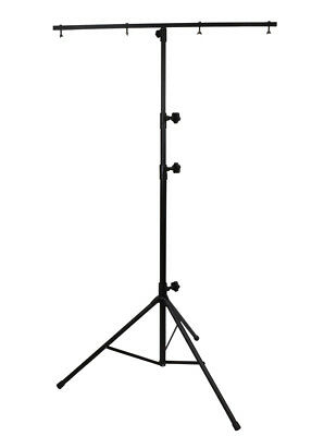 Lighting Stand 2.7 Metres Light Load Inc T-Bar Suitable for spots and LED par ca