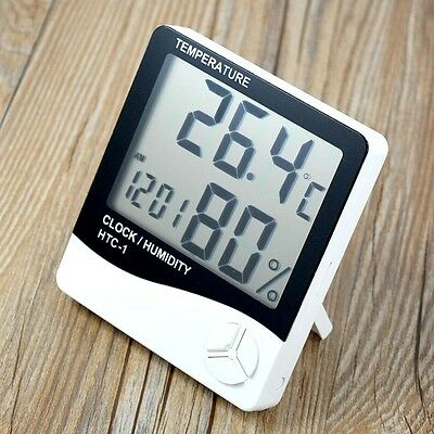 Mini Digital Electronic Indoor/Outdoor Thermometer Hygrometer