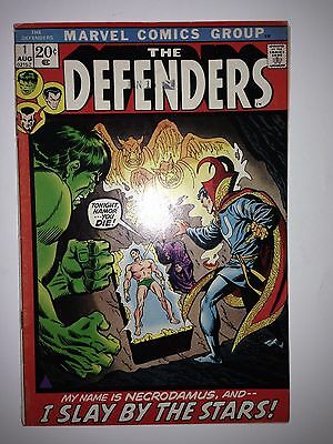 The Defenders #1 FN/VF (1st appearance of Necrodamus)