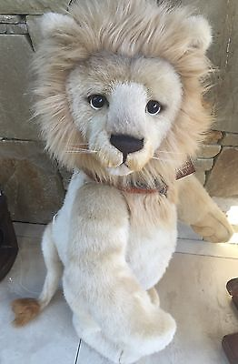 Charlie Bears Rex 76cm  large standing Collectors Plush Lion limited Edition