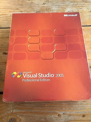 Microsoft Visual Studio 2005 Professional, Englisch Vollversion