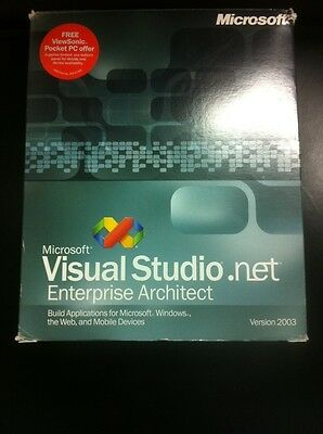 Microsoft Visual Studio .NET 2003 Enterprise Architect Englisch