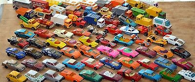 Collection of 72 matchbox superfast in two matchbox carry cases - cars,truck etc