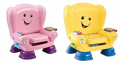 Fisher-Price Laugh & Learn Smart Stages Chair - Yellow and Pink