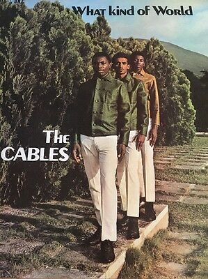 The Cables-what Kind Of World - Uk Studio One-Mint-