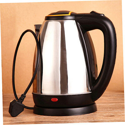 2L Good Quality Stainless Steel Electric Automatic Cut Off Jug Kettle AO