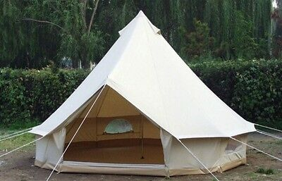 Brand New 5 Meter 5m Canvas Bell Tent