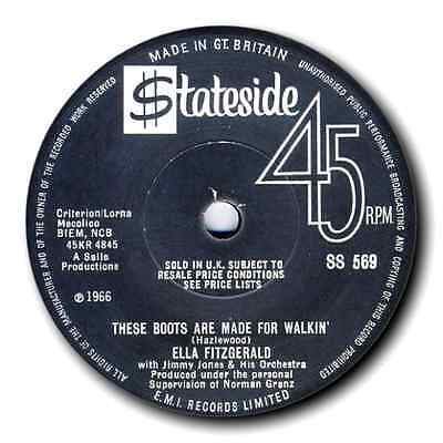 "ELLA FITZGERALD - ""These Boots Are Made For Walking"" NORTHERN SOUL - LISTEN"