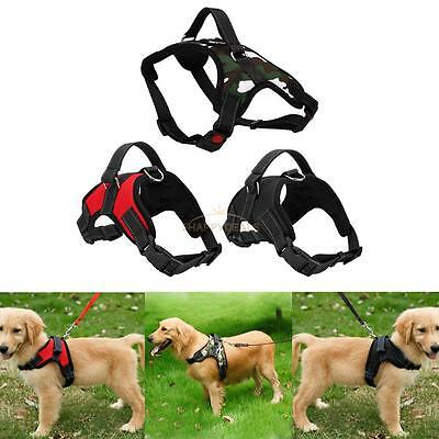 Pet Adjustable Puppy Dog Cat Non Pull Soft Collar Safety Strap Vest Harness HOT