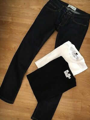 Topman Skinny Jeans And Ribbed T Shirts