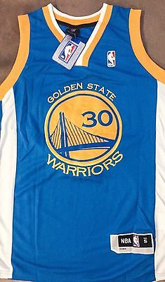 Brand New Kids Adult NBA Golden State Warriors Steph Curry Jersey #30 ALL SIZE
