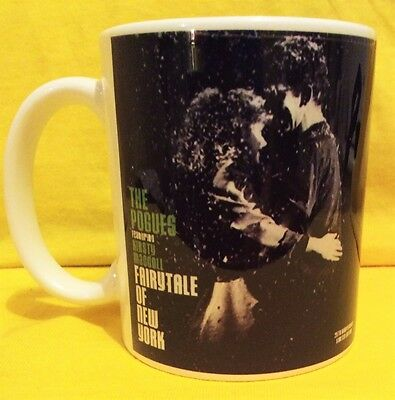 The Pogues & Kirsty Mccoll  Fairytale In N.y.-Christmas Cover On A Mug.