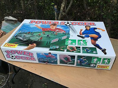 Tomy Power Soccer Table Top Football Game Boxed BNIB Ref 7065