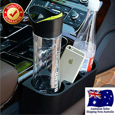 Car Seat Gap Cleanse Drink Mobile Cup Holder Ticket Travel Coffee Bottle Glass