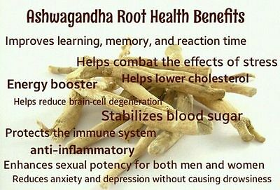 400gm Pure Ashwagandha Root (Withania Somnifera) For Stamina And Power