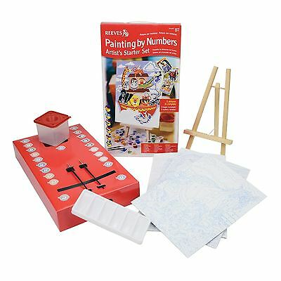 Reeves Paint By Numbers Artist Sets 1 or 2
