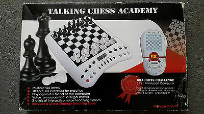 Talking Chess Academy + Draughts Challenge