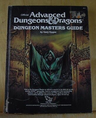 Dungeon Masters Guide [Very Good- 8th+ printing] Dungeons & Dragons TSR 2011