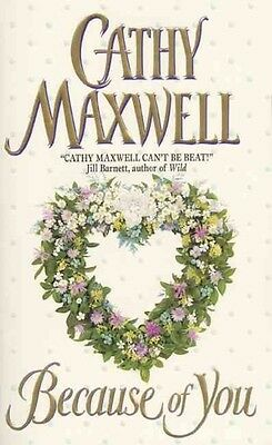 Because of You by Cathy Maxwell Mass Market Paperback Book (English)
