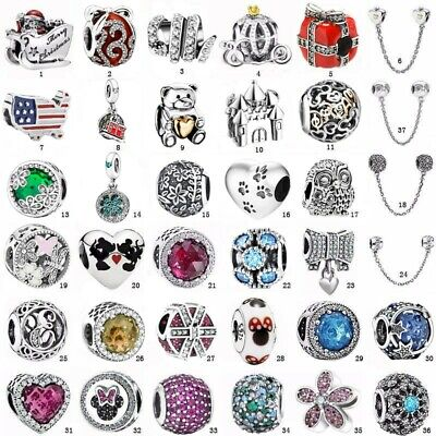 S925 Christmas Gift sterling European silver charms bead For bracelet chain CA