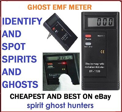 Emf Ghost Lcd Led Spirit Reader Meter Paranormal Detector Hunting Equipment