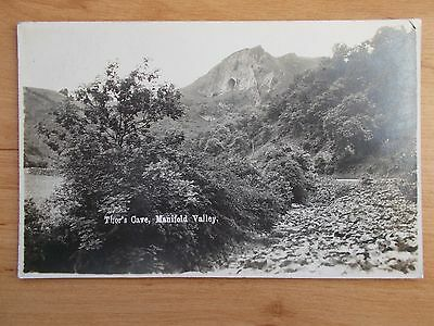 Vintage Postcard - Thor's Cave - Manifold Valley - Staffordshire