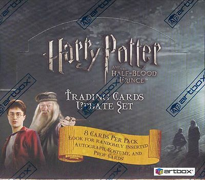 Harry Potter and the Half Blood Prince Update sealed Hobby Box  - LOT OF 2 BOXES